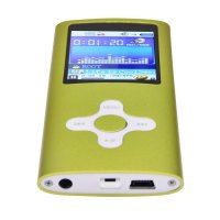 1.8 Inch Metal MP4 Player Built-in 16GB Internal Memory Video Raido FM Player
