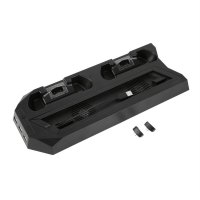 Charging Dock Station for PS4 Slim Controller with Dual Cooling Fan 3 USB