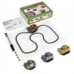 Automatic Inductive Toy With Magic Pen Tank Model Series Follow Drawn Line Toy