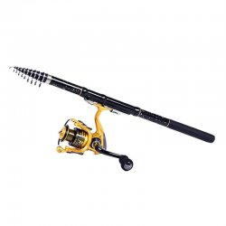 1.8/2.1/2.4/2.7/3.0/3.6M Lightweight Carbon Telescopic Fishing Rod Pole
