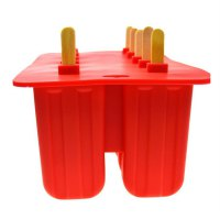 10-hole Silicone Ice Cream Mould Frozen Maker Tools Silica Gel Ice Cream Mould