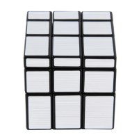 3 x 3 x 3 Magic Cube Puzzle Ruler Mirror Intelligence Game Kids Toy