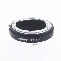 Adapter for Nikon AI F G AF-S Mout lens to Leica M LM L/M Camera NEW