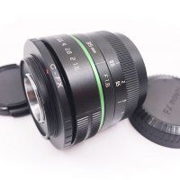 mirrorless 35mm f1.6 C mount green ring Lens for APS-C camera S0ny NEX M4/3 Micro 4/3 FX E0SM N1 PQ + cap