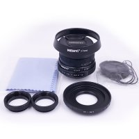 25mm f/1.8 CCTV mini lens for all Nikon 1 Mount mirro Camera & hood Adapter 7 in 1 kit