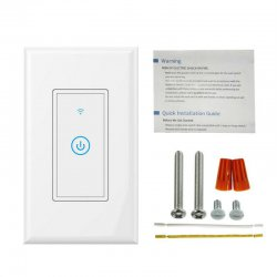 WIFI Light Switch Smart Wall Touch US Switch
