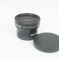 37mm 0.45x WIDE Angle + Macro Conversion LENS 37 0.45 Black
