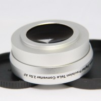 43mm 2.0x TELE Telephoto LENS for Camcorder 43 mm 2x  Silver