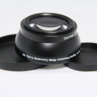49mm 0.45x WIDE Angle + Macro Conversion LENS 49 0.45 Black