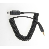 3.5mm-N3 shutter Cord for FS350 FS520 TW-282 wireless Flash Trigger D7000 D5100