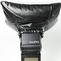 Universal Inflatable Air Blow Flash Diffuser for All speedlite flash