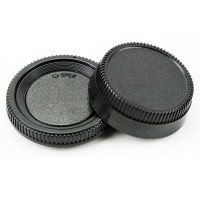 Camera Body Cap + Rear Lens Caps for Nikon F mount AI AF AF-S lens anti-dust CA