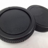 Camera Body Cover and Rear Lens Cap for Olympus OM 4/3 E-1 E-3 E-5 E-10 E-20 E-30 E-420 E-450 E-620 E-600