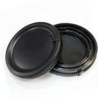 Camera Body Cover+Lens Rear Cover Cap For Minolta MA Sony Alpha