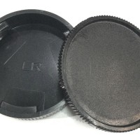 Camera Body Cover + Lens Rear Cover Cap For Leica R L/R Body and Lens