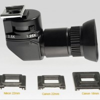1.25x-2.5X right angle view machine for Canon/Nikon/Pentax Angle Finder