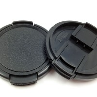 2PCS 49mm Snap on Lens Cap for Mirrorless Digital Camera