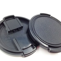 2PCS 52mm Snap on Lens Cap for D-SLR Camera Kit