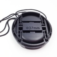 2PCS 37mm Center Release lens Cap with Keeper