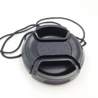 2PCS 43mm Center Release lens Cap with Keeper