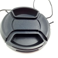 2PCS 55mm Center Release lens Cap with Keeper