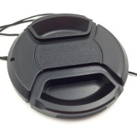 2PCS 62mm Center Release lens Cap with Keeper