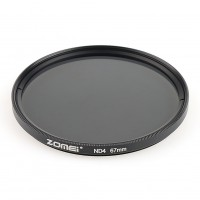 Zomei 67mm Slim Fader Variable ND4 Mirror Reduced Camera Filte Neutral Density