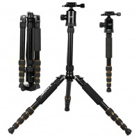 Z699 Magnesium Alloy Camera Camcorder Tripod Stand for Professional Photographic