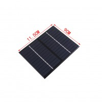 1.5W 18V Polycrystalline Silicon Solar Panel Mobile Phone Digital Products