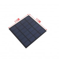 1.5W 6V Polycrystalline Solar Cells Solar Panels Solar Module For Charging