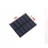 0.5W 2.5V Solar Cell Module Polycrystalline Diy Solar Panel Charger