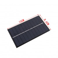 1.6W 5.5V Polycrystalline Silicon Solar Panel Mobile Phone Digital Products