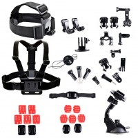 ​Accessories Set Kit Gopro Chest Strap Kit For GOPRO Hero and SUPTig Motion DV
