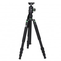 z988 Professional Portable Travel Alloy Tripod to Monopod Ball Head for Digital