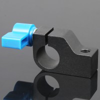 15mm Rod Clamp Holder for DSLR Rig Rail Support Magic Arm Monitor