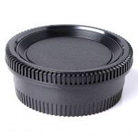 Camera Body + Rear Lens Cap Cover For Nikon DSLR & AI AF-S Lenes Front and Rear