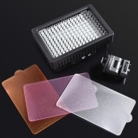 Pro HD-160-LED Video Light Lamp For Nikon Pentax DSLR Camera DV Camcorder