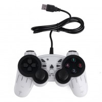 Wired USB PC Gamepad Double Shock Joystick Controller Joypad for PC Laptop