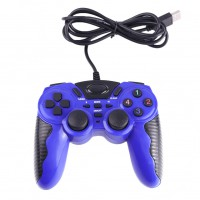 USB PC Gamepad Double Shock Joystick Controller Joypad for PC Laptop Desktop