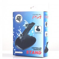 Station Stand PS4 Gamepad Double Charging Cradle USB LED Charging Dock