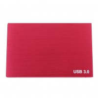 "2.5"" inch USB 3.0 HDD Hard Mobile Disk Drive Enclosure External Box 2 Colors New"