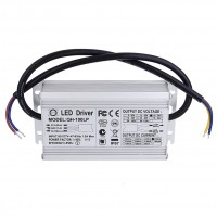 100W LED Driver Power Supply AC 85-277V 1.8A DC 18V-34V Waterproof  IP67