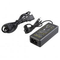 12V 5A Plug US Regulayion DC Power Adapter AC 100-240V 50/60Hz 5.5mm Charger