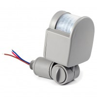 12M Security PIR Infrared Motion Sensor Switch Detector DC90-250V 2 Colors