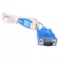 9 Pin USB to RS232 Serial Port DB9 Cable Serial COM Port Adapter Convertor New