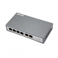ESCAM TP-Link 4Port Ethernet POE Switch Hub Desktop Intelligent Power Management