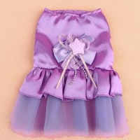 Fashion Cute Puppy Pet Dog Lace Skirt Cat Princess Romantic Wedding Dress New