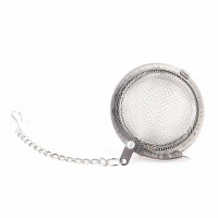 1 Pcs New Stainless Steel Infuser Strainer Mesh Locking Tea Ball Filter