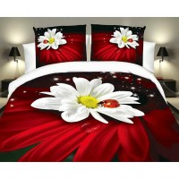 3D Print horse Bed Sheets Quilt Cover Pillow Set of 4pcs Bedding Home Textile