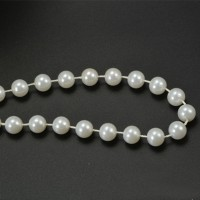 10mm Imitation Pearl Cotton Beads ABS Plastic Faux Pearl Beads Strands Home